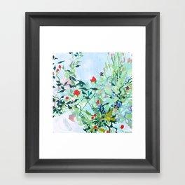 Tangled Garden Framed Art Print