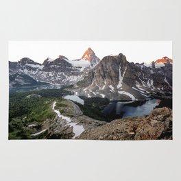 Mt. Assiniboine Rug