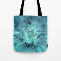 emerald Tote Bags featuring Emerald by Armine Nersisian