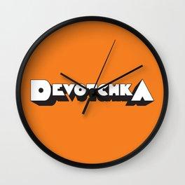 Devotchka Wall Clock