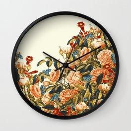 Vintage Garden 22 (Summer Peaches) Wall Clock