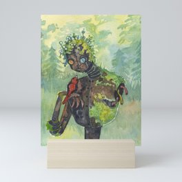 a meeting Mini Art Print
