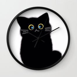 cat 598 Wall Clock