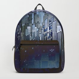 Walls in the Night - UFOs in the Sky Backpack