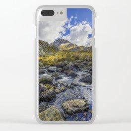 Tryfan Stream Clear iPhone Case