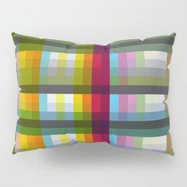 Colorful Grid Nariphon Pillow Sham