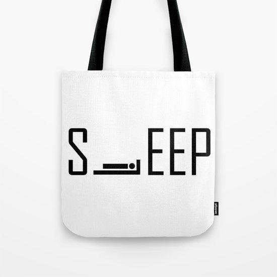 iSLEEP Tote Bag