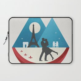Le Baiser - French Kiss Laptop Sleeve