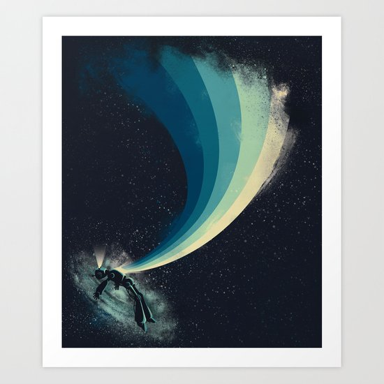 Self-destruct Art Print