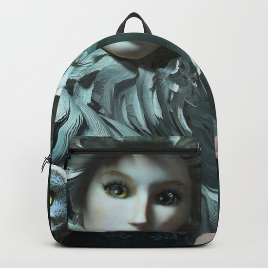 Owls Talk - dedicated to thee_owl_queen Backpack