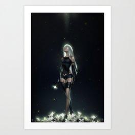 NieR: A2 Art Print