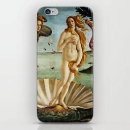 Iconic Sandro Botticelli The Birth of Venus iPhone Skin