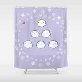 Snowflake Shower Curtain