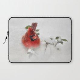 Winter Cardinal Laptop Sleeve