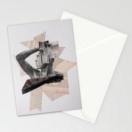 Mann mit gebrochener Nase Stationery Cards