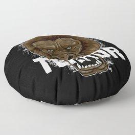 Terror Monkey   Rampage Gorilla Floor Pillow