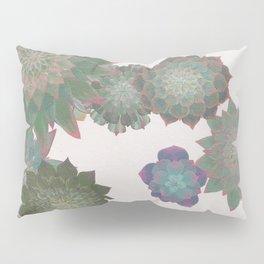Succulent Spiral Pillow Sham