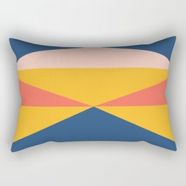 Minimal Southwestern Summer Rectangular Pillow