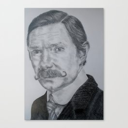 Victorian Watson Pencil Canvas Print