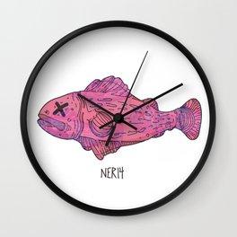 Fish inside fish 2 Wall Clock