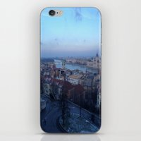 budapest iPhone & iPod Skins featuring Budapest by Nikki Morgan