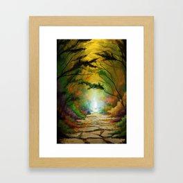 Pathway to Destiny Framed Art Print