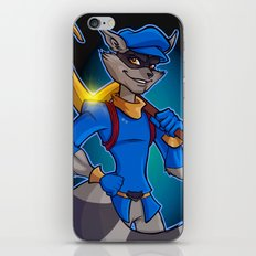 Sly Cooper iPhone & iPod Skin