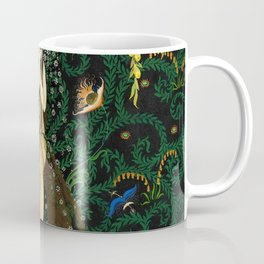 1921 Classical Masterpiece 'Flowers and Flames' by Kay Nielsen Coffee Mug
