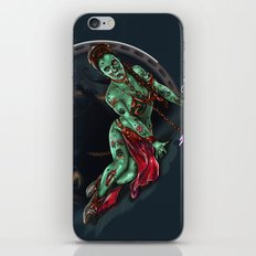 Aren't you a little brainless for a stormtrooper? (Zombie Slaved Princess Leia) iPhone & iPod Skin