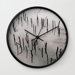 Flooded Crop Wall Clock