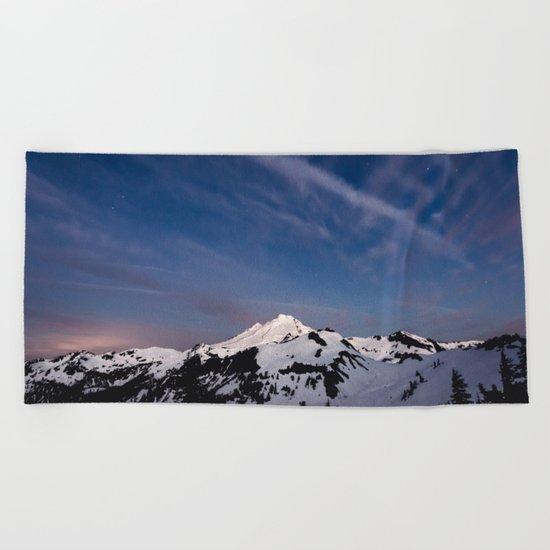 Mount Baker Beach Towel