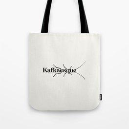 Kafkaesque - Franz Kafka Tote Bag