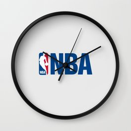 NBA LOGO Wall Clock