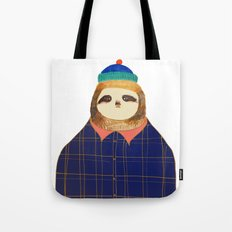Hipster Sloths be like. Tote Bag