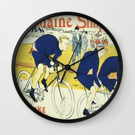 Vintage poster - La Chaine Simpson Wall Clock