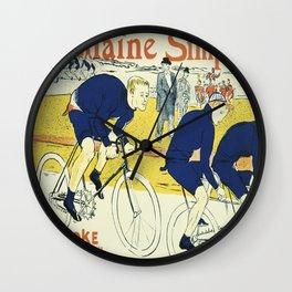 Vintage poster - La Chaine Simpson Wall Clock