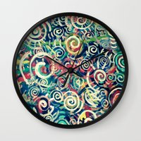 physics Wall Clocks featuring Problem with Quarks by Matt Pecson