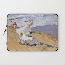 Joaquin Sorolla y Bastida - Capturing the moment, 1906 Laptop Sleeve