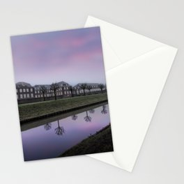 Pink Sky At Schloss Nordkirchen Stationery Cards