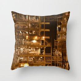 Ocotillo Power Plant Throw Pillow