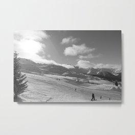 Mountain Landscape, Alps Metal Print