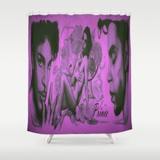 The Purple Rain Artist! Never Forgotten Shower Curtain