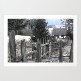 Paysage-F1 Art Print