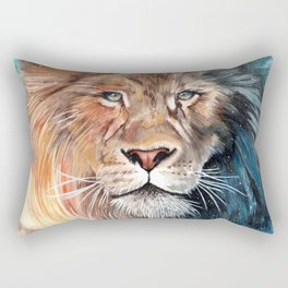 Celestial Lion Rectangular Pillow