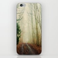 ghost iPhone & iPod Skins featuring GHOST PATH by Catspaws