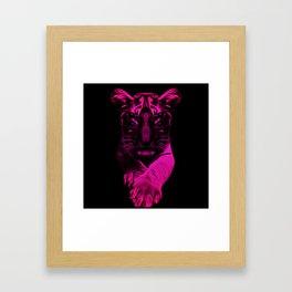 Young Tiger Framed Art Print