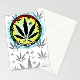 100% Smokin' Cannabis - 3 - Support Prop #215 - 100% Smokin' Cannabis Stationery Cards