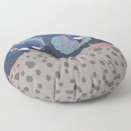 Pigeon Feast Floor Pillow
