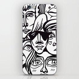 ヽ(゚▽゚*)乂(*゚▽゚)ノ iPhone Skin