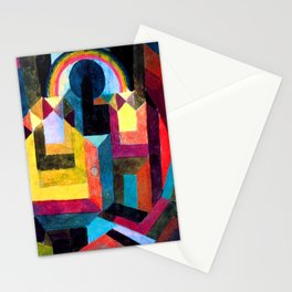 Paul Klee With the Rainbow Stationery Cards